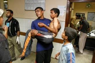 Photo: Baghdad hospital casualty