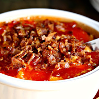 Hot Pepper Jelly Cheese Dip with Bacon.