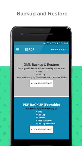 E2PDF screenshot 1