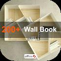 Wall book rack ideas icon
