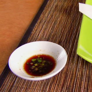 Soy Ginger Dipping Sauce.