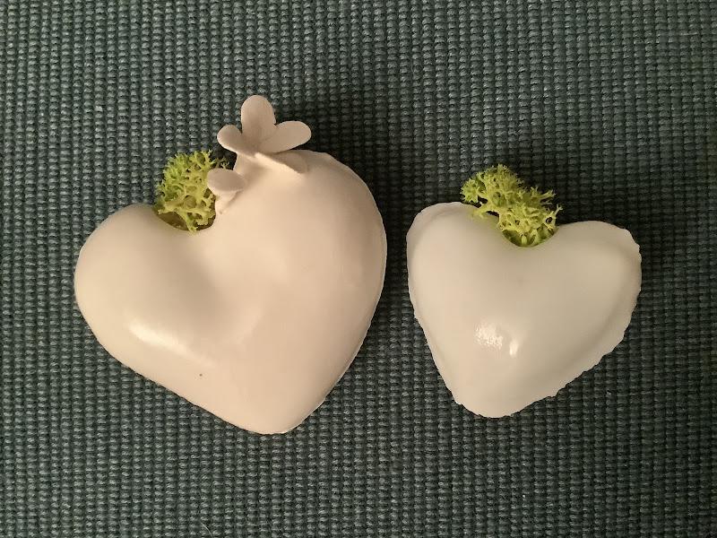 piccoli grandi cuori fioriti di Pierafff