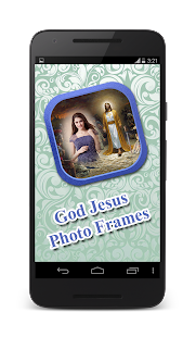 god jesus photo frames screenshot thumbnail