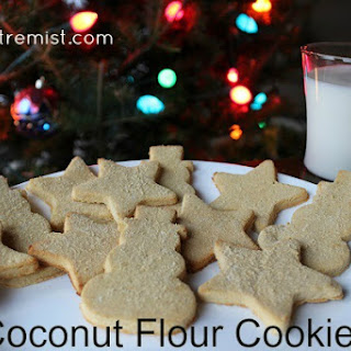 Coconut Flour Cookies.
