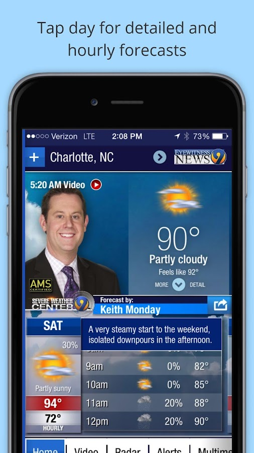 WSOC-TV Weather- screenshot