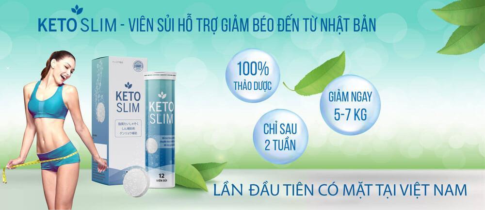 Sản phẩm keto slim được bán giá rẻ tạp chuyensuckhoesacdep.com