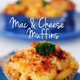 Mac & Cheese Muffins.