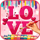 Lovely Hearts Coloring Book Android apk