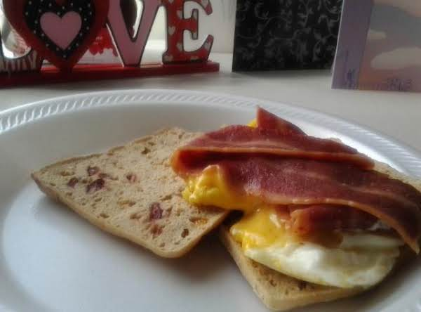 Oatmeal Toasters Breakfast Sandwich Recipe
