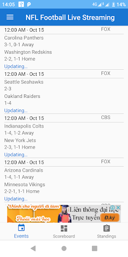 NFL Football Live Streaming