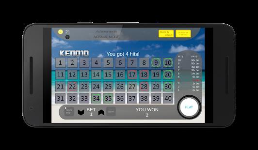 Keno10 screenshot