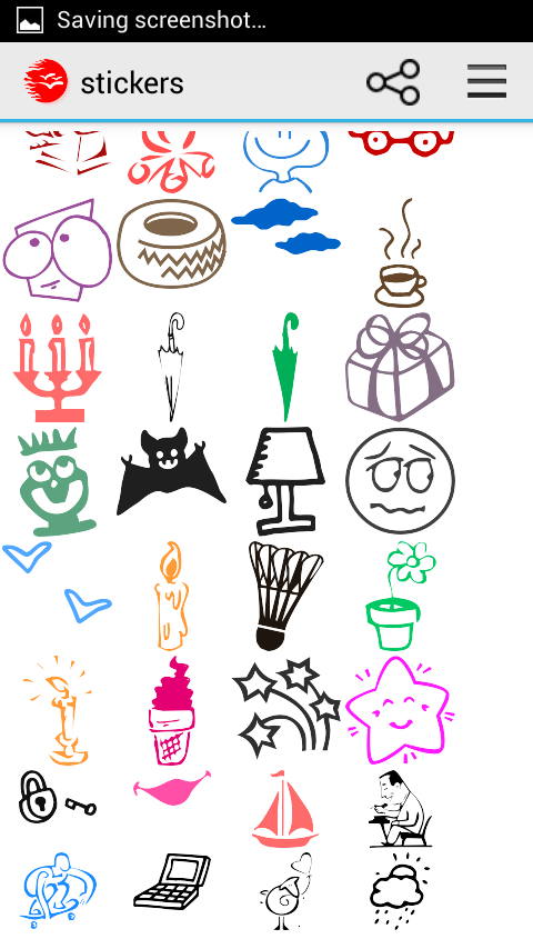 STICKERS- screenshot