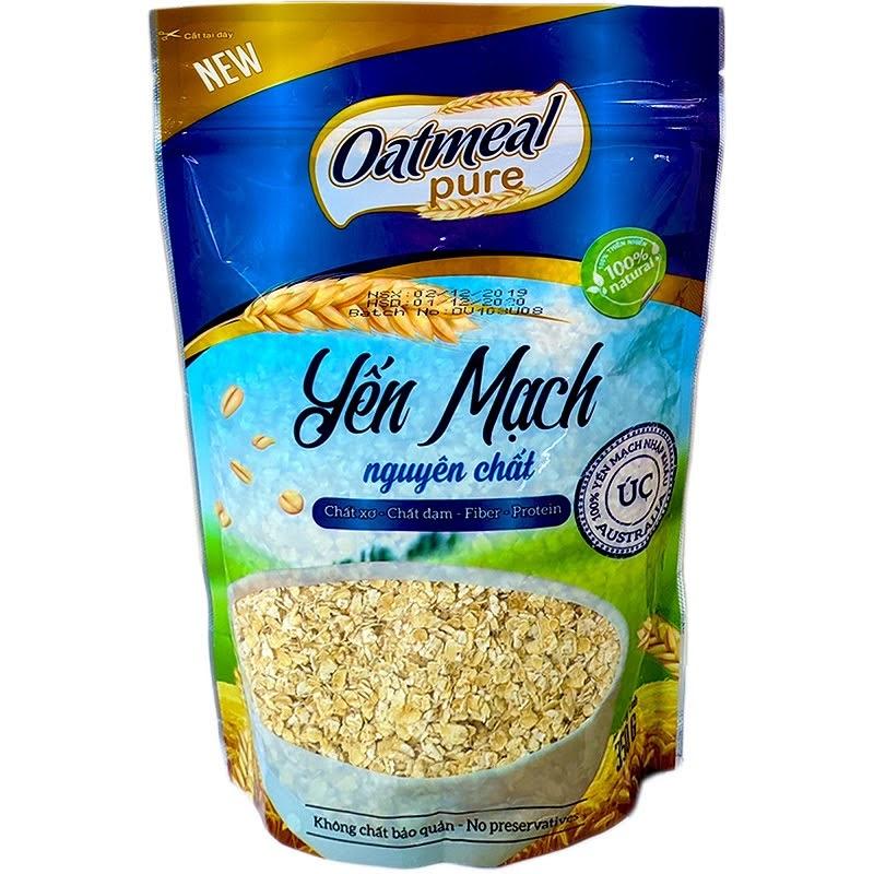 Yến mạch úc nguyên chất Oatmeal 350 g Yến mạch Úc nguyên chất Oatmeal 350 g