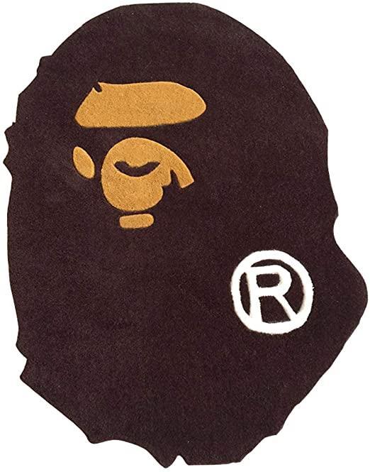 Amazon.com: GDpowerseller A Bathing Ape Bape Carpet Rug Monkey Home  Decoration Door Mat Floor (8060CM): Kitchen & Dining
