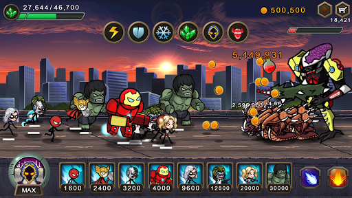 HERO WARS: Super Stickman Defense u0635u0648u0631 1