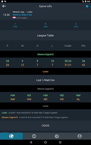 Football Bet Analyser u26bd Predictions, Tips and Odds 3.2.0 Screenshots 8