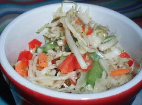 "Click Here for Recipe: Firecracker Cole Slaw ""Made this yesterday & loved..."