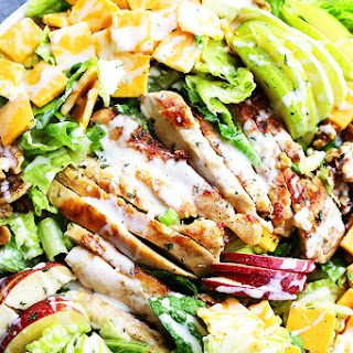 Apples and Cheddar Chicken Salad