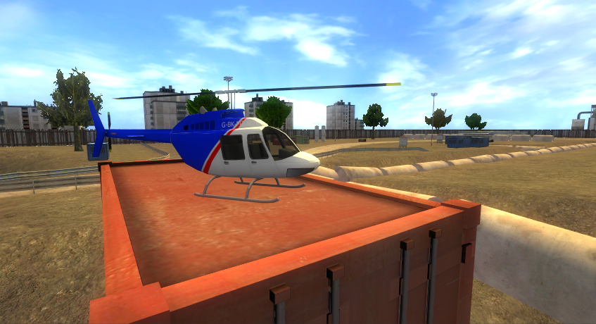 RC Helicopter Simulator- screenshot