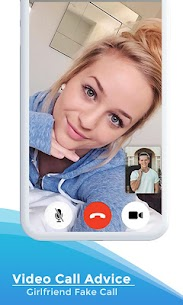 Video Call Advice Girlfriend Fake Call App Download For Android and iPhone 5