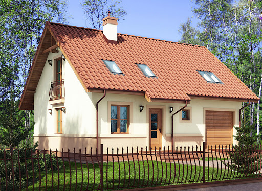 projekt domu Rusałka