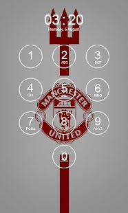 Manchester United Lock Screen 4K - náhled