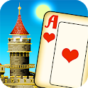 Magic Towers Solitaire - Tri Peaks icon