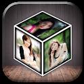 Photo 3D Cube Live Wallpaper icon