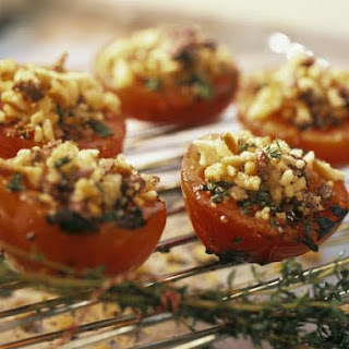 Breadcrumb-topped Tomatoes.