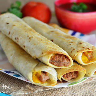 Crisp Bean Burritos Recipe