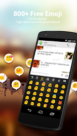 GO Keyboard Lite + Emoji Screenshot 4