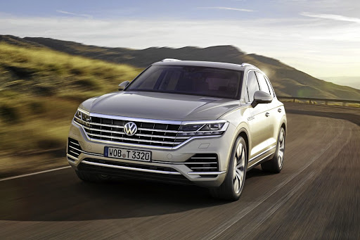 The third generation Touareg will be bigger and more stylish when it arrives in SA in the third quarter of 2018. Picture: VOLKSWAGEN