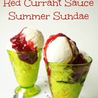 Red Currant Sauce.