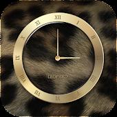 호피 시계 위젯 (Leopard UCCW skin)
