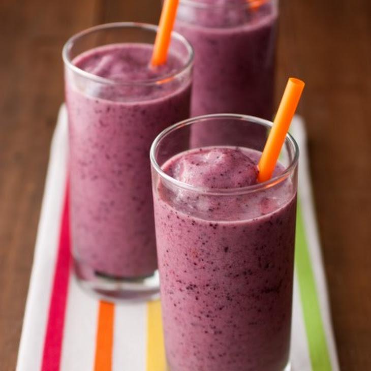 Banana Berry Smoothies {Jamba Juice Copycat} Recipe