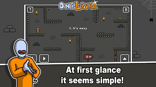 One Level: Stickman Jailbreak 1.1 screenshots 1