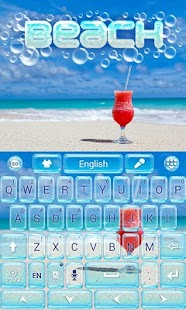Beach-GO-Keyboard-Theme 1