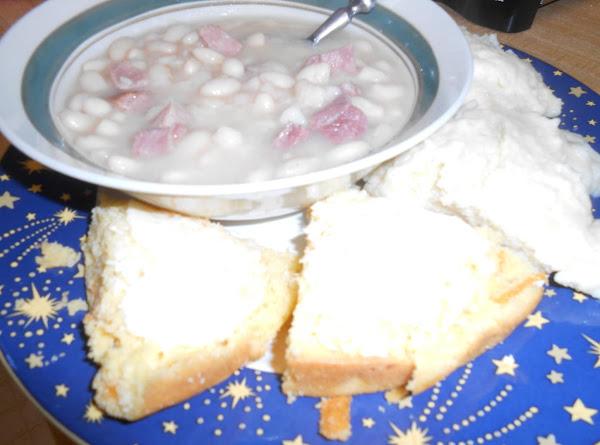 Ham & Beans With Dumplings Recipe