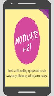 Motivate Me - náhled