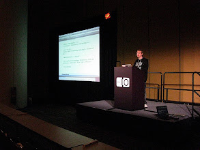 Photo: Jason Cooper, Google, Building an OpenSocial Application in the Cloud codelab