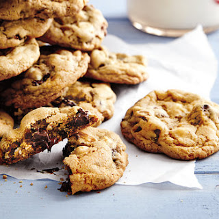 Chunky Cherry-Double Chip Cookies