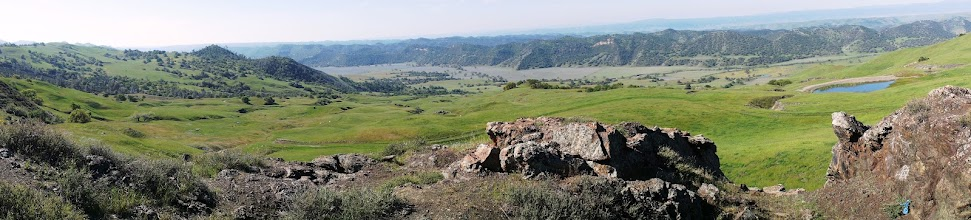 Photo: View from Mustang Ridge along CA Route 198