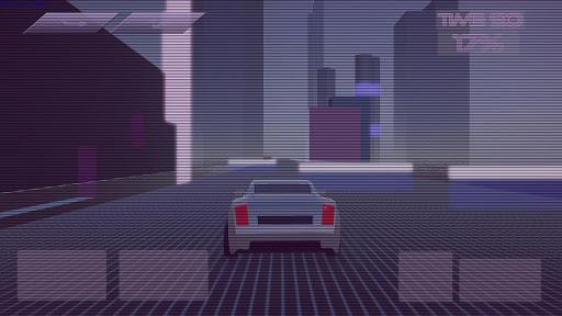 Synthwave Driver 3D - Retrowave Racing Game apkmind screenshots 5