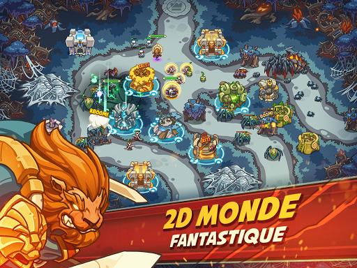 Empire Warriors TD Premium: Tower Defense Games  captures d'u00e9cran 2