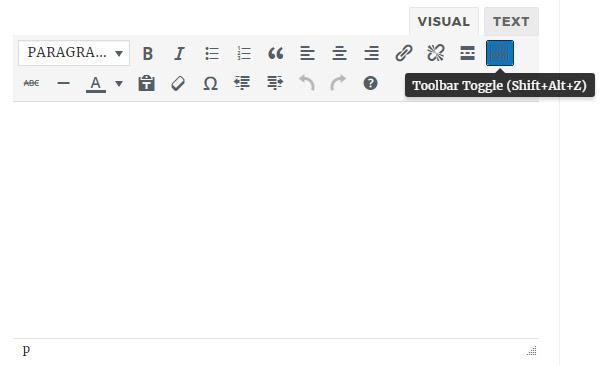 bbpress visual editor teeny false