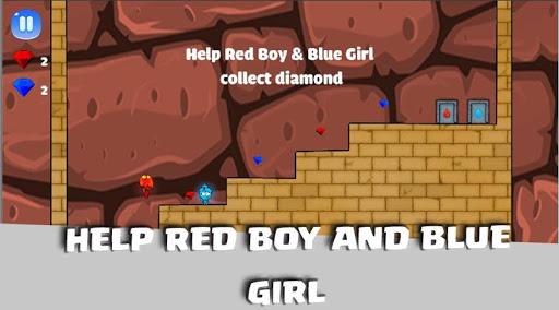 Red Man Blue Gril screenshot 2