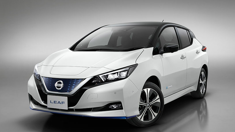 The Nissan Leaf.