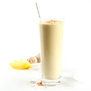 Mango Ginger Turmeric Smoothie Recipe