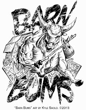 "Photo: Tshirt design for a 4H club in Ridgefield, WA. This is the original design. The final design was altered by client request to have a less ""evil"" looking bull. The client is paying and they get want."