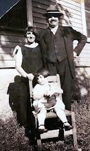 Photo: Martha, Bernard and Regina Sternbach